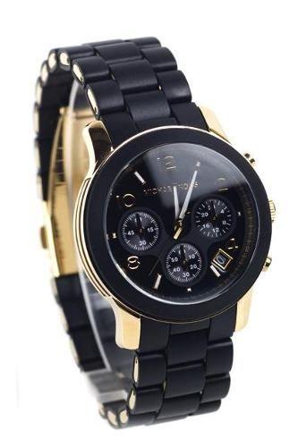 5782e6cfa8361 Relógio Michael Kors Mk5191 Preto E Dourado - WORLD ELECTRONIC LTDA